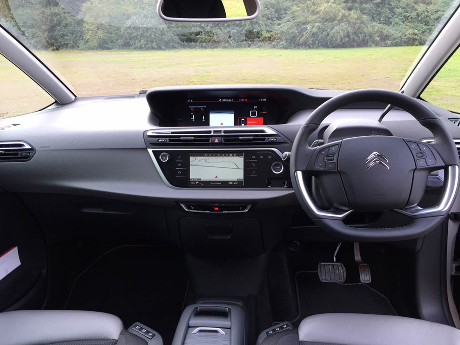 Citroen grand c4 picasso flair bluehdi 150 eurekar - C4 picasso interior ...