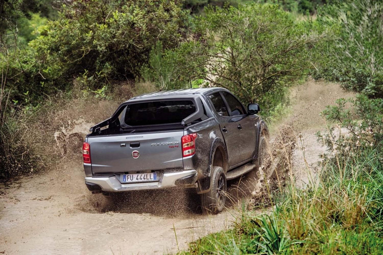 New Fullback Plays Hard At Fiat Eurekar Pickup Truck 2017 Cross Rear Off Road