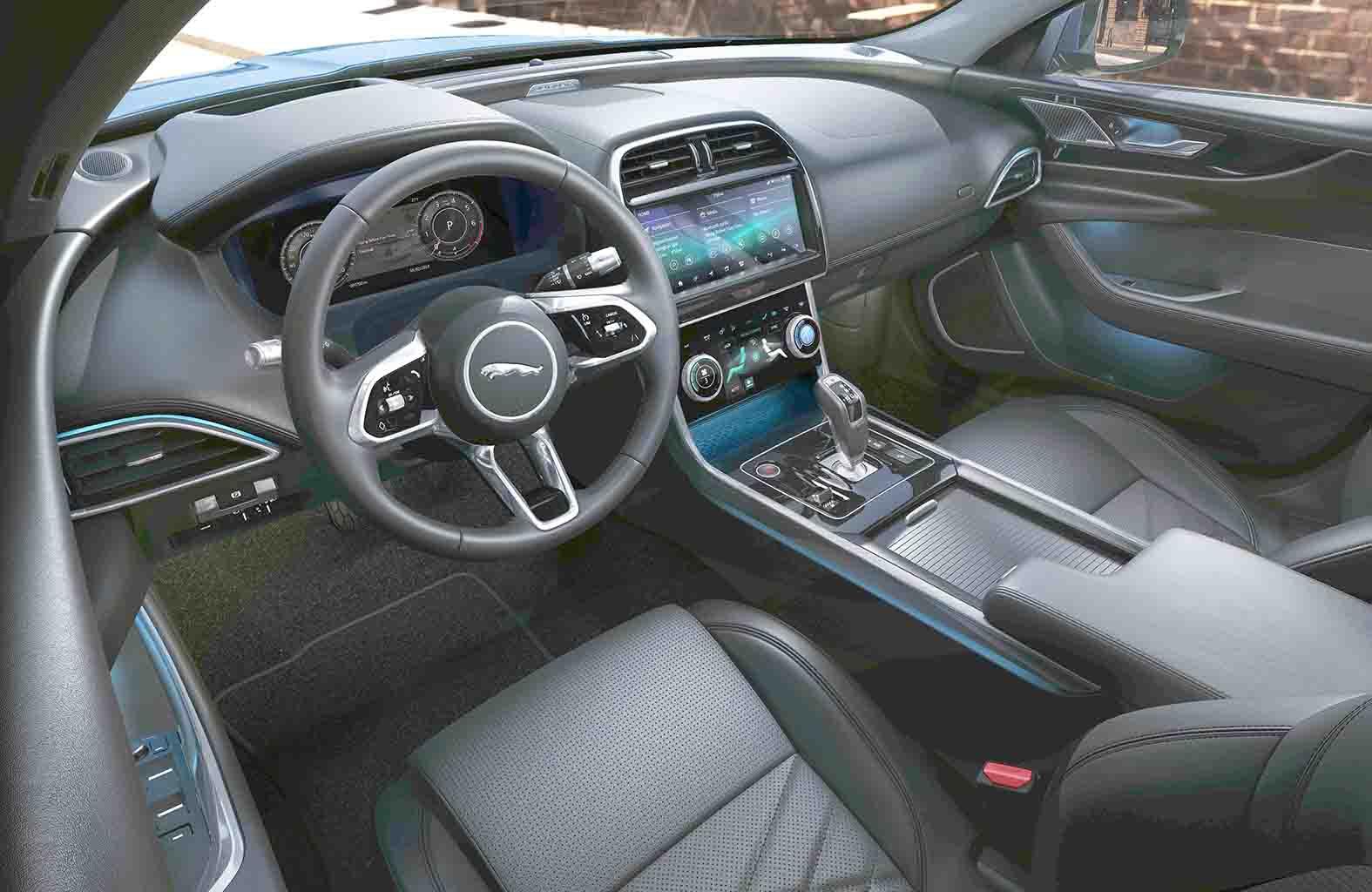 jaguar goes full monty with new xe | eurekar