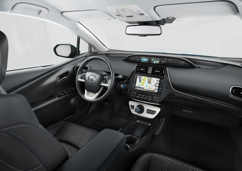 Solar Power For Pioneering Prius Eurekar Panel Car Toyota Plug In Hybrid 2017 Interior