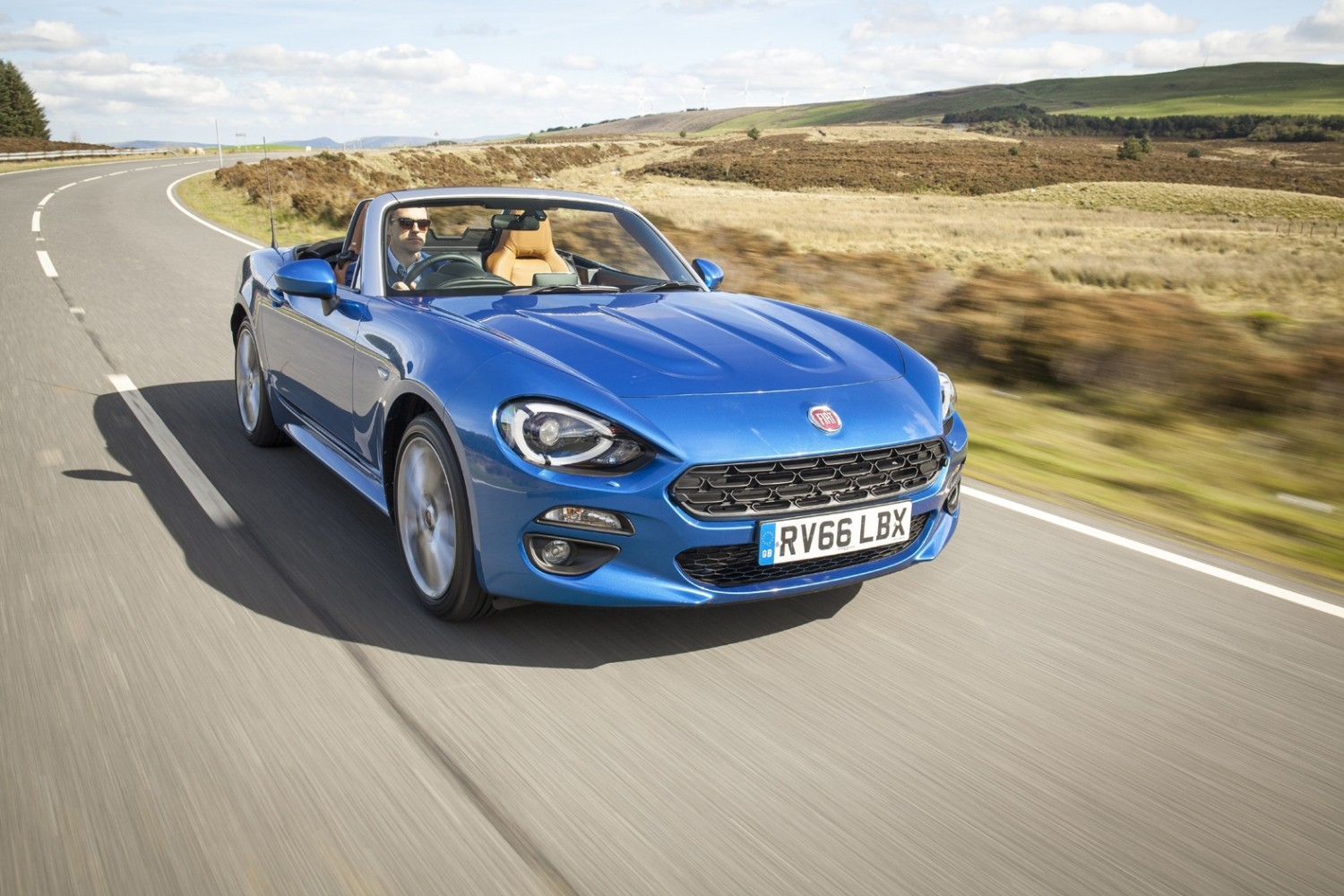 Fiat 124 Spider A Web Of Pure Fun Eurekar 1970 Convertible 2017 Front Action