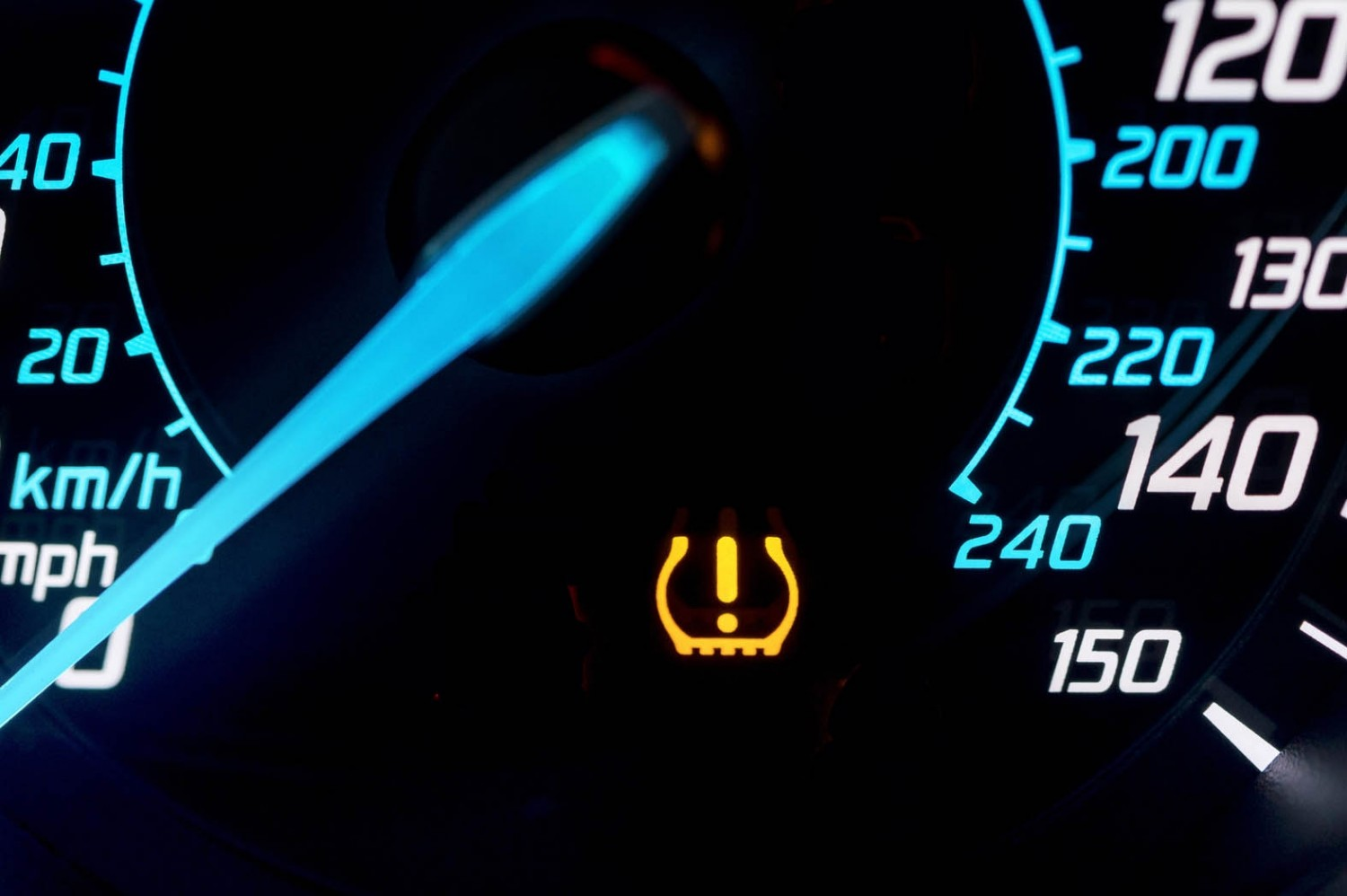 Tyre Pressure Monitoring System Tpms Warning Light
