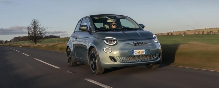 Electrifying new Fiat 500