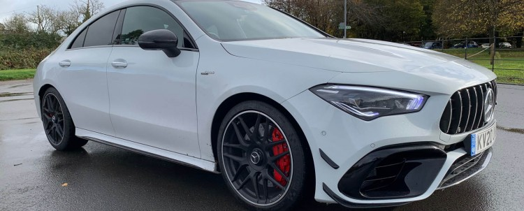 Aggressive looks for new Merc coupe
