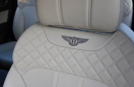 Bentley Bentayga, seat detail
