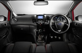 Ford Fiesta Red Edition, dashboard
