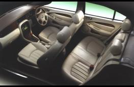 Jaguar X-Type, interior