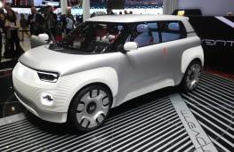 Fiat Centoventi, front