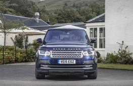 Range Rover, front