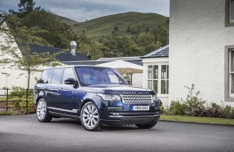 Range Rover, front quarter