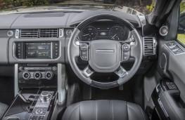 Range Rover, dashboard