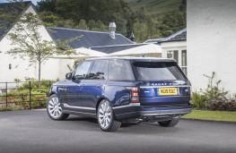 Range Rover, rear quarter