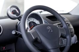 Peugeot 107, interior