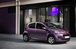 Peugeot 107, side