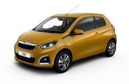 Peugeot 108, Golden Yellow