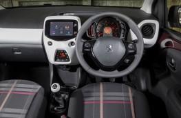 Peugeot 108, interior