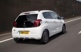 Peugeot 108, rear, action