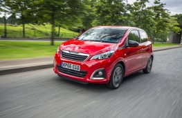 Peugeot 108, 66 plate, front