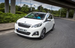 Peugeot 108 Top!, 66 plate, front
