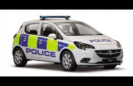 Vauxhall Corsa police car