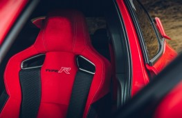Honda Civic Type R, interior detail