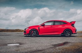 Honda Civic Type R, side