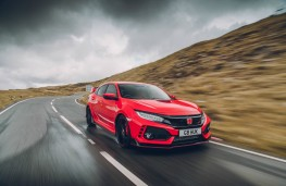 Honda Civic Type R, dynamic