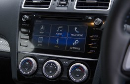 Subaru Levorg, interior detail
