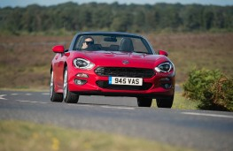 Fiat 124 Spider, nose, action