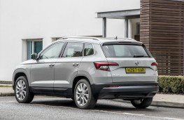 Skoda Karoq, rear quarter