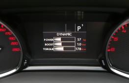 Peugeot 308, interior, display
