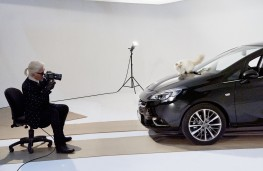 Vauxhall Corsa, photgraphed by Karl Lagerfield