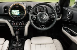 Mini Countryman Cooper S ALL4, controls