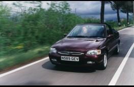 Ford Escort Ghia Cabriolet, 1996