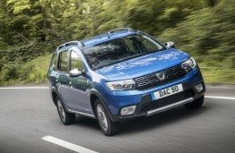 Dacia Logan MCV Stepway, dynamic