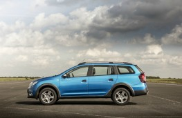 Dacia Logan MCV Stepway, profile