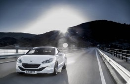 Peugeot RCZ, 13 plate, front, action