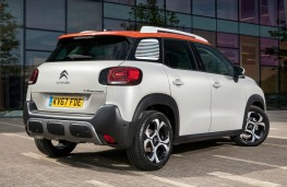 Citroen C3 Aircross, rear quarter