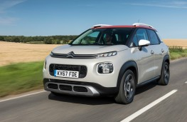 Citroen C3 Aircross, dynamic