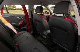 Audi Q2, interior rear