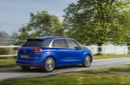 Citroen C4 SpaceTourer, dynamic