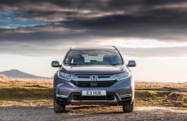 Honda CR-V, front
