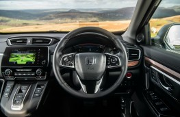 Honda CR-V Hybrid, dashboard