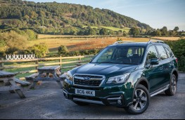 Subaru Forester, front