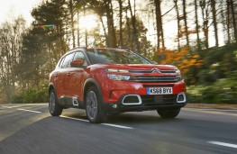 Citroen C5 Aircross, dynamic