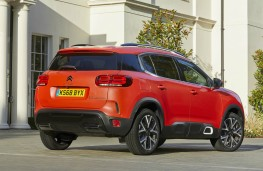 Citroen C5 Aircross, rear