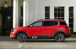 Citroen C5 Aircross, profile
