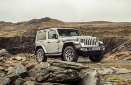 Jeep Wrangler Sahara, front