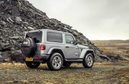Jeep Wrangler Sahara, rear