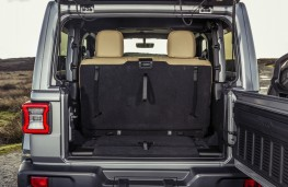 Jeep Wrangler Sahara, boot